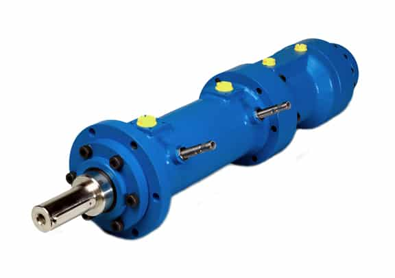 Hydraulic Rotary Actuators - HSE4 Rotary-Linear Actuator